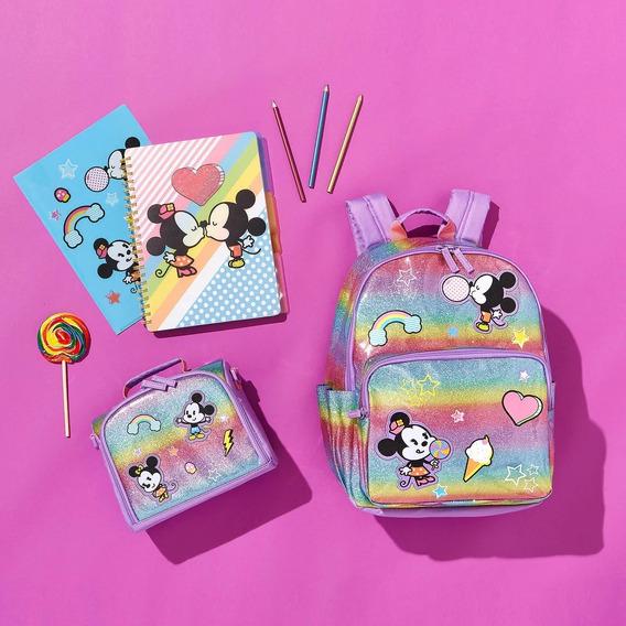 Mochila E Lancheira Michey E Minnie Original Disney Store