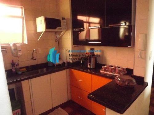 Imagem 1 de 9 de Apartamento A Venda No Bairro Santa Terezinha Em São - 196-1