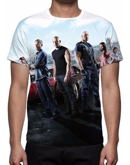 Camiseta, Camisa Velozes E Furiosos 6