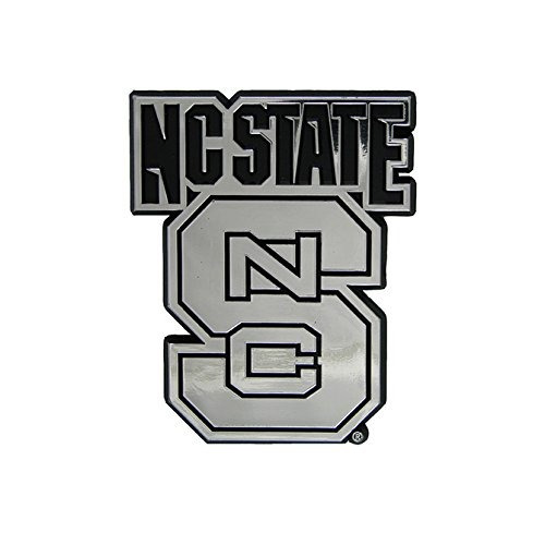 Nc State Ncaa 3d ¿¿chrome Emblem Sticker Decal
