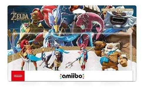 Figura Amiibo Daruk Mipha Revali Urbossa - Zelda -  Sniper