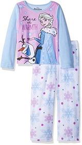 d07fca2543 Disney Frozen Elsa Conjunto De Pijama De Forro Polar De 2 Pi