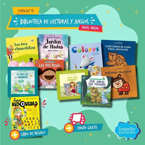 Biblioteca De Lecturas Y Juegos - Nivel Inicial - Longseller