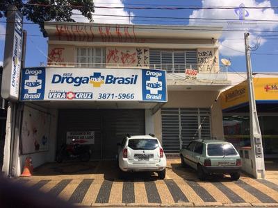 Prédio Comercial À Venda, Vila Embaré, Valinhos. - Pr0019