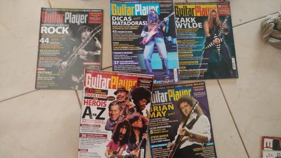 Lote Revistas Guitar Player 2008 Completo