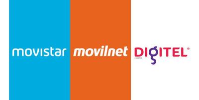 Recarga De Saldo Movistar / Movilnet / Digitel / Directv