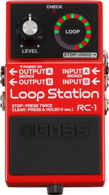Pedal Guitarra Rc-1 Loop Station Rc1 Boss Com Nota Fiscal