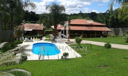 Imagem 1 de 17 de Chácara À Venda Em Campos De Monte Mor - Ch006057