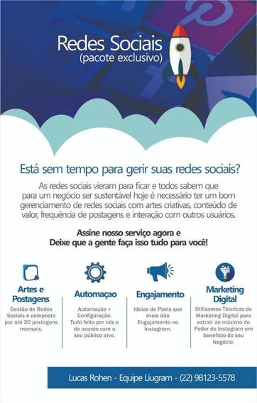 Gerenciamento E Automação De Redes Sociais