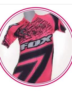 Camiseta De Ciclismo Corta Dama Coach Fox