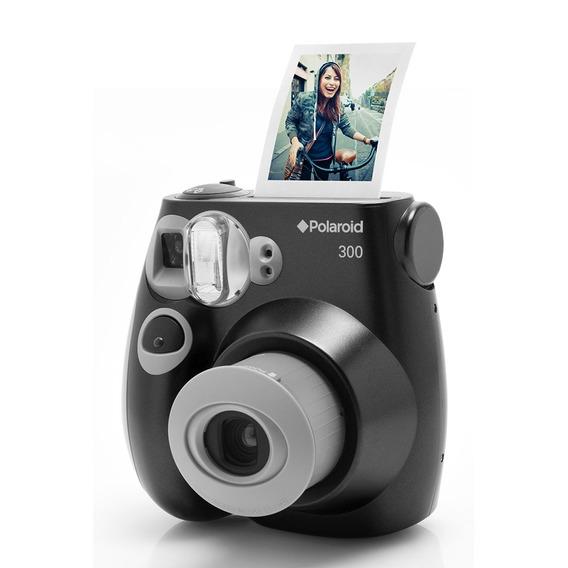Câmera Polaroid Instantânea Pic 300 Preta
