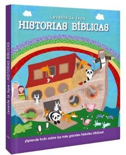 Historias Biblicas - Libro Con Solapa