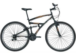 Bicicleta Polimet Eagle Full Suspension Aro 29 V-brake 21v