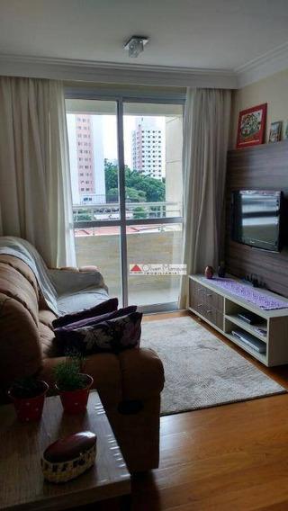 Apartamento Com 3 Dormitórios À Venda, 75 M² Por R$ 450.000,00 - Jardim Ester Yolanda - São Paulo/sp - Ap5207