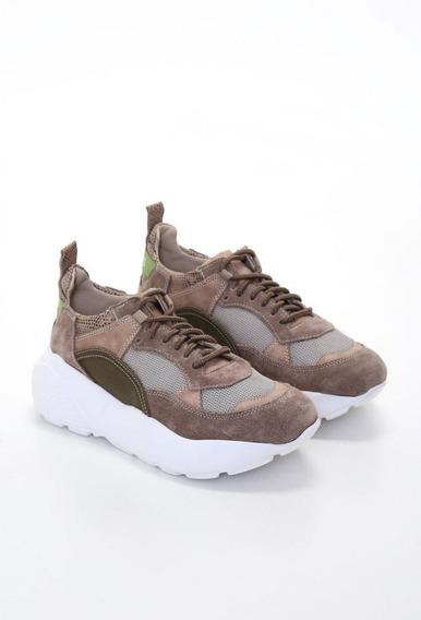 Zapatillas Mujer Cuero Verano 2020 Heyas Lusina (18 Cuotas)