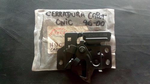 Imagen 1 de 3 de Cerradura De Capot Honda Civic 96-00.