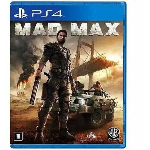 Jogo Mad Max Ps4 Playstation 4 Mídia Física Lacrado