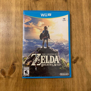 The Legend Of Zelda Bread Of The Wild Nintendo Wii U Fisico