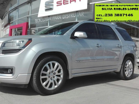 Gmc Acadia 3.6 Denali V6 At De Oportunidad Financiamiento