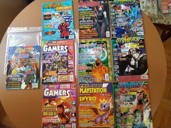 10revistas Gamers (pródicas/golpes/book/...) Perf. Estadado