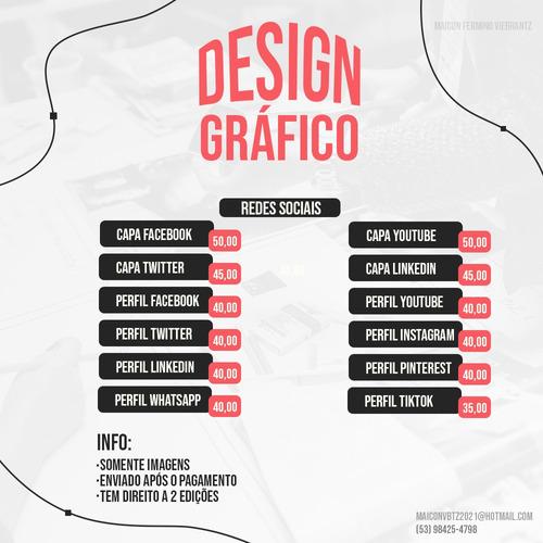 Imagem 1 de 1 de Serviço Design Gráfico