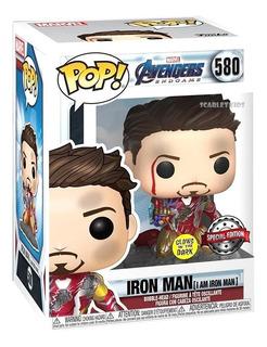 Funko Pop Iron Man 580 Special Edition Glow Orig Scarletkids