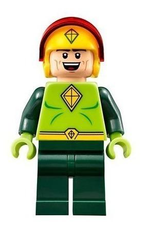 Boneco Compatível Lego Minifigure Batman Kite Man Pipa