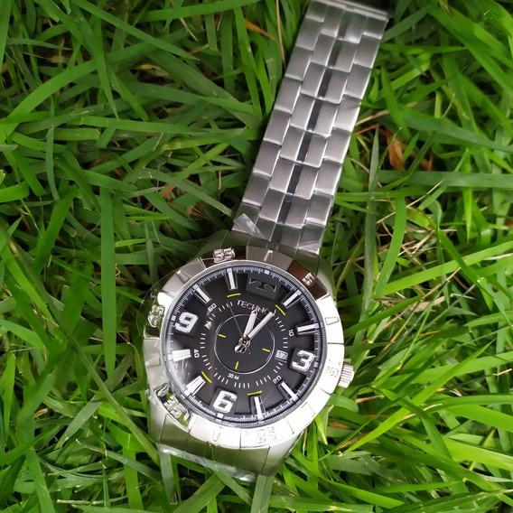 Relógio Masculino Grande Technos 2115kyx C/ Nf Original