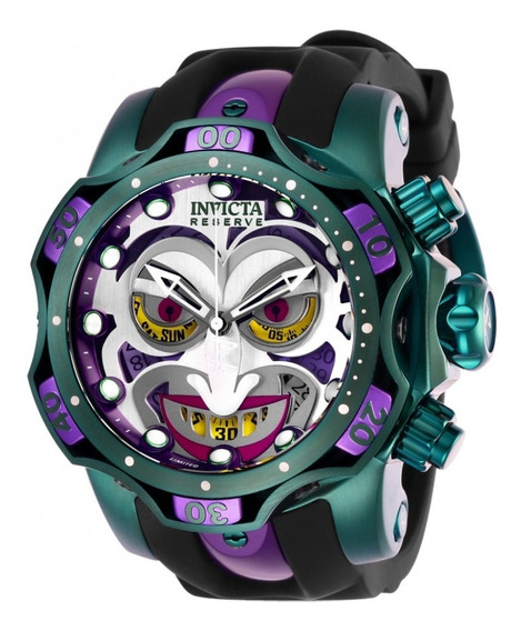 Relógio Invicta Dc Comics Joker Model 26790