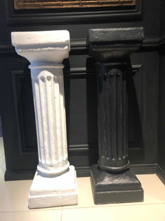 Par Pedestales Romanos 85cm Alto.