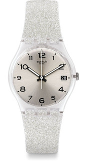 Swatch Gm416c - 34 Mm Diámetro - Silverblush