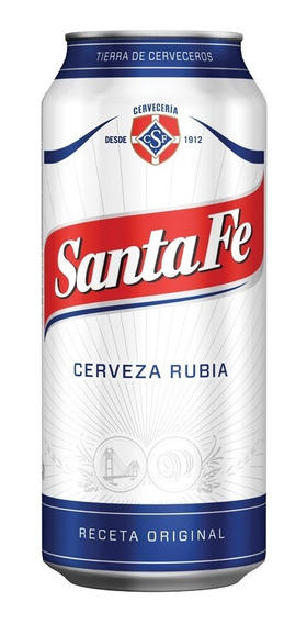 Cerveza Santa Fe Lata 473cc X 12 U.