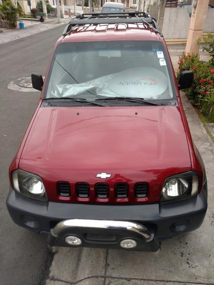 Chevrolet Jimny Rojo Vino Motor 1300cc 16v Año 2005 A/c Tm