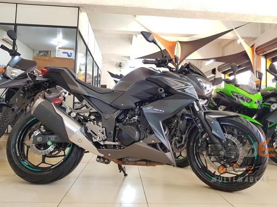 Kawasaki Z 300 Cinza 2016