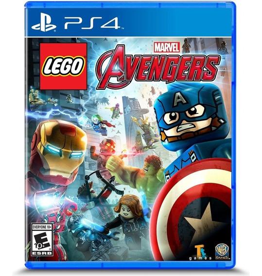 Lego Marvel Avengers Ps4 Mídia Física Lacrado
