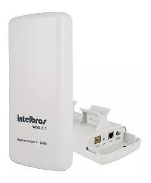 Cpe Wog 212 Intelbras 12dbi 2.4ghz Outdoor Station 2 Wifi