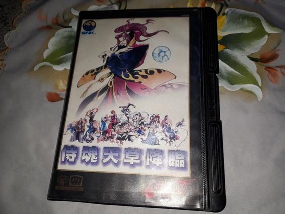 Samurai Shodown 4 Completo Original P/ Neo Geo Aes