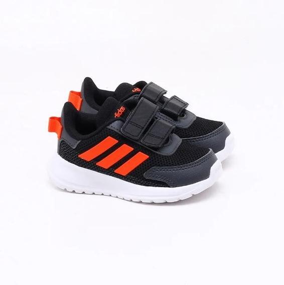 Tênis adidas Baby Tensaur Run Preto/laranja Original C/nota