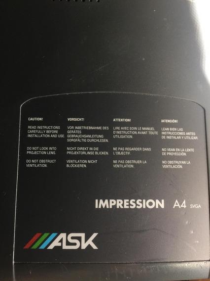 Projetor Ask Impression A4 - Não Funciona