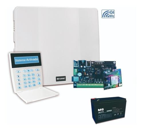 Panel Alarma Casa Pc-900 Comunicador Wifi Y 3g Teclado Lcdrf