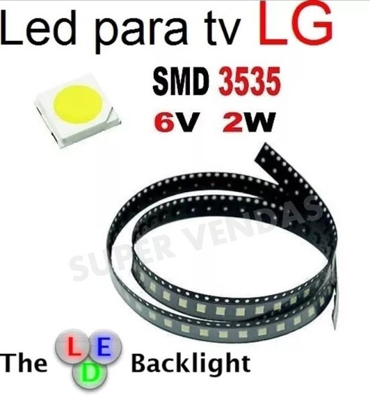 Led 6v 2w 3535 Tv Lg 39lb5600 _22 Unidades