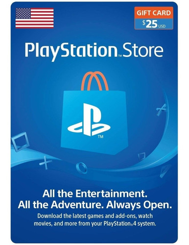 Tarjeta Playstation Store Recarga Gift Digital Card Usa (25)
