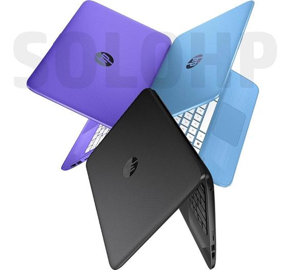 Super Mini Laptop Hp Stream 11 Intel N4000 4gb+32gb W10v1903