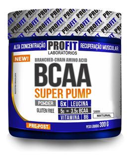 Bcaa 6:1:1 Em Pó Super Pump 300g - Profit Labs