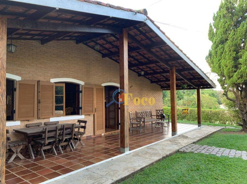 Chácara Com 4 Dormitórios À Venda, 1500 M² Por R$ 810.000,00 - Condomínio Ville De Chamonix - Itatiba/sp - Ch0215