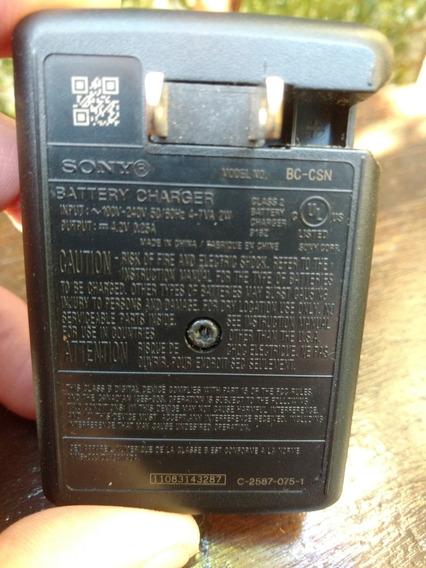Carregador Para Câmera Digital Sony Modelo Bc-csn