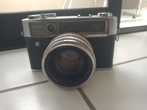 Camera Antiga - Máquina Fotográfica Yashica 1c Lynx 14e
