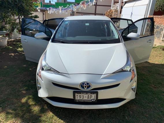 Toyota Prius Premium Sr Hibrido 2017 Seminuevo Extras