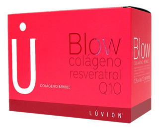 Blow Colageno Bebible Resveratrol Coenzima Q10 X60 Sobres