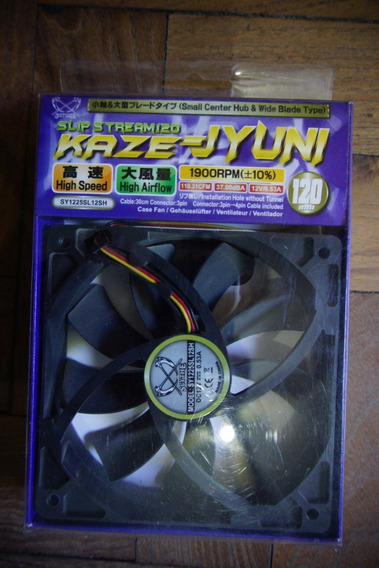 Fan Cooler Scythe Kaze Slip Stream 120mm 1900rpm 110.31cfm